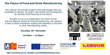The Future of Food and Drink Manufacturing tickets