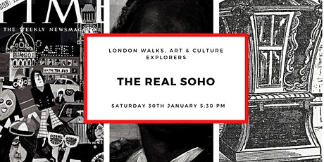 "THE ""REAL"" SOHO - small-group walk with a qualified London guide tickets"