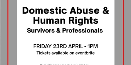 Domestic Abuse & Human Rights tickets