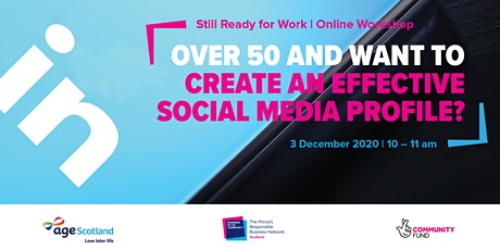Still Ready for Work | Creating an Effective Social Media Profile tickets