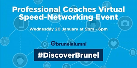 Professional Coaches Speed-Networking Event tickets