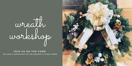 Holiday Wreath Workshop - Onsite tickets