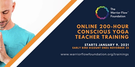 Free Info Session: 200-hour Warrior Flow - Online Yoga Teacher Training tickets