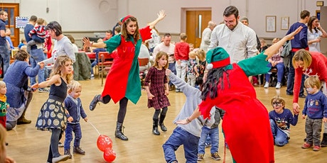 'Elf Training' Virtual Christmas Party @ 3:15pm For  Children Aged 0-5 yrs
