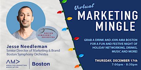 AMA Boston's Holiday Marketing Mingle tickets