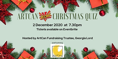 ArtCan Christmas Quiz tickets