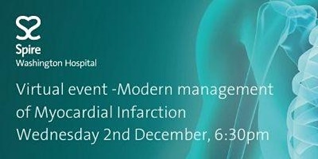 Virtual event -Modern management of Myocardial Infarction tickets