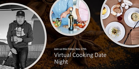 Virtual Cooking Date Night tickets