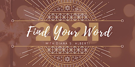 Forget New Years Resolution Find Your WORD Instead tickets
