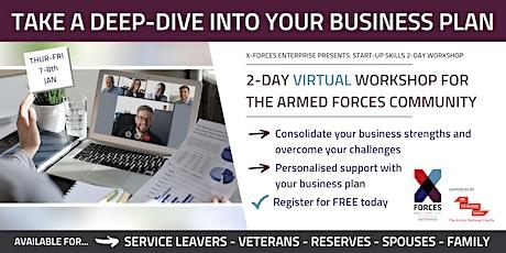 Start Up Skills Virtual Workshop tickets