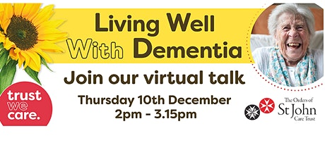 Living well with Dementia tickets
