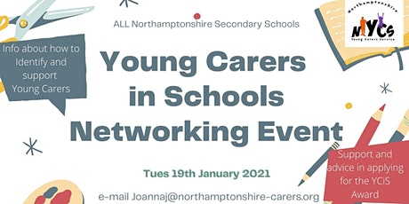 Young Carers in Secondary School Professionals Networking Event tickets