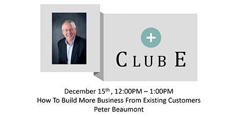 Club E Maple Grove-  Peter M. Beaumont tickets