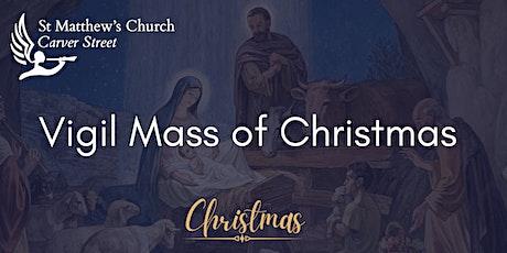 Vigil Mass of Christmas tickets