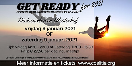 Get Ready for 2021 tickets