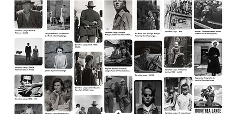 Free Online Meetup! The Photography Of Dorothea Lange- Images And Technique tickets