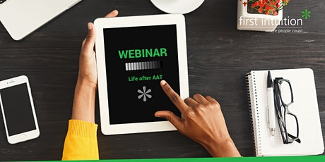 Life After AAT: Free webinar for AAT completers tickets