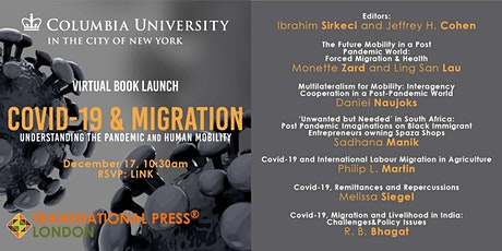 Book Launch:  COVID-19 and Migration tickets