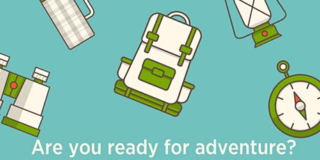 Curbside Adventure and Discovery Backpack Check Out tickets