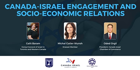 Canada-Israel Engagement and Socio-Economic Relations tickets