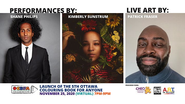 Virtual Book Launch & Fundraiser! #5 Ottawa Colouring Book For Anyone image