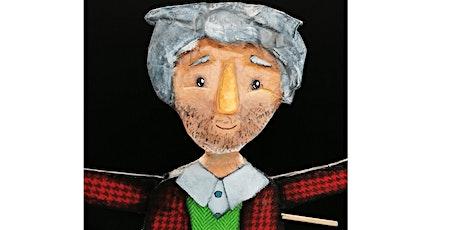 """Braga é Natal: """"O meu avô sabe voar"""",pelo Teatro e Marionetas de Mandrágora bilhetes"""