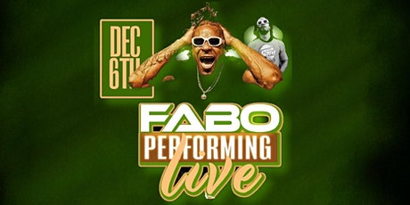 FABO LIVE AT MYNT CHOPHOUSE! tickets