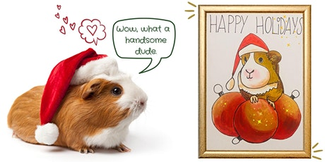 "Virtual  Painting Party ""Paint your pet in festive style""  tickets"