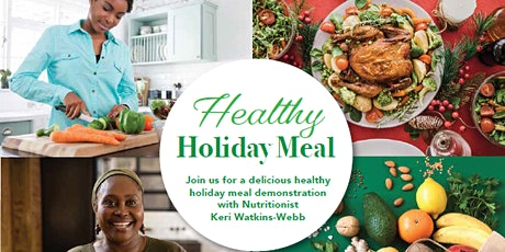 Healthy Holiday Meal Webinar tickets