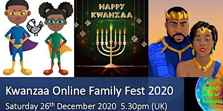 Kwanzaa Online Family Fest 2020 tickets