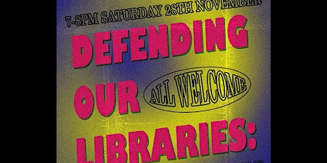 Defending Our Libraries: A Gathering to Celebrate the Day of Action tickets