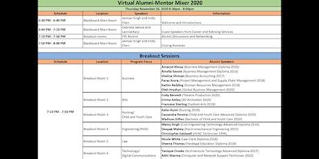 Virtual Alumni-Mentor Mixer 2020 tickets