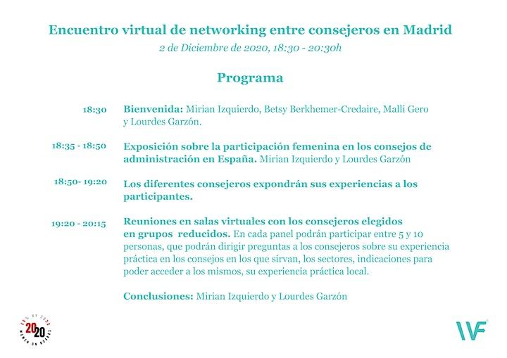 Imagen de Conversation session on corporate boards - España