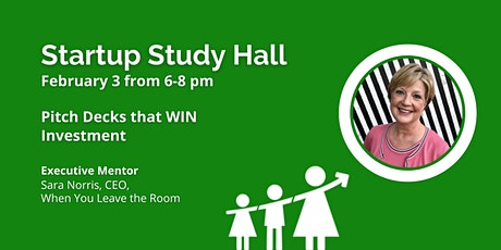 Startup Study Hall with Sara Norris tickets