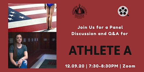 Athlete A Panel Discussion and Q&A tickets