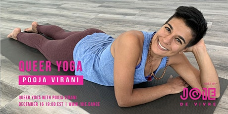 Dec 16 Queer Yoga with Pooja Virani tickets