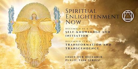 Public Talk Series - Spiritual Enlightenment now tickets
