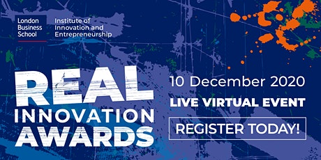 2020 Real Innovation Awards - Live Virtual Event tickets