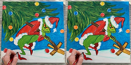 Grinch: Virtual Painting Experience with Artist Katie Detrich! tickets
