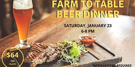 January Beer Dinner tickets