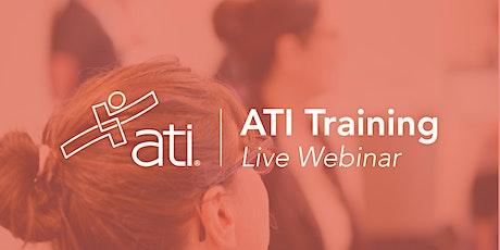 ATI Talk tickets