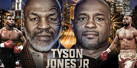 RSVP NOW FOR THE MIKE TYSON vs ROY JONES JR. FIGHT WATCH PARTY tickets