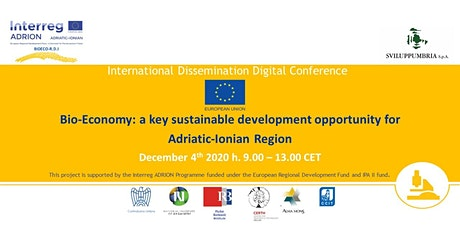 Bio Economy: A key sustainable development opportunity for Adriatic Ionian tickets