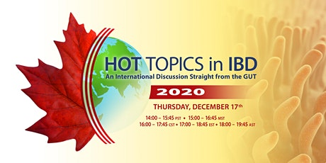 HOT TOPICS in IBD: An International Discussion Straight from the GUT tickets