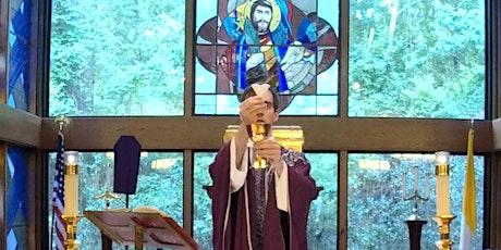 6 p.m. Sunday Mass Saint Luke [in church] tickets
