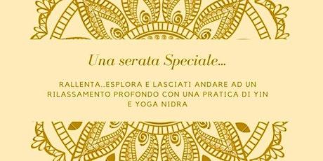 Lezione Yin e Yoga Nidra biglietti