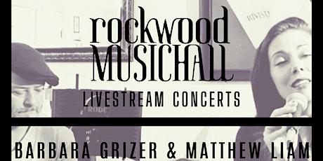 Barbara Grizer & Matthew Liam - FACEBOOK LIVE tickets