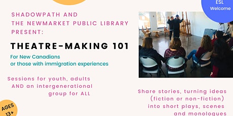 Theatre-Making 101 Session For Youth tickets