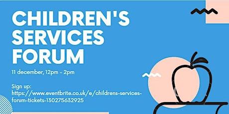 Children's Services Forum tickets