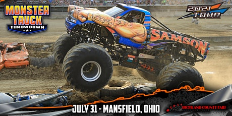 Monster Truck Throwdown - Mansfield, OH - July 31, 2021 tickets